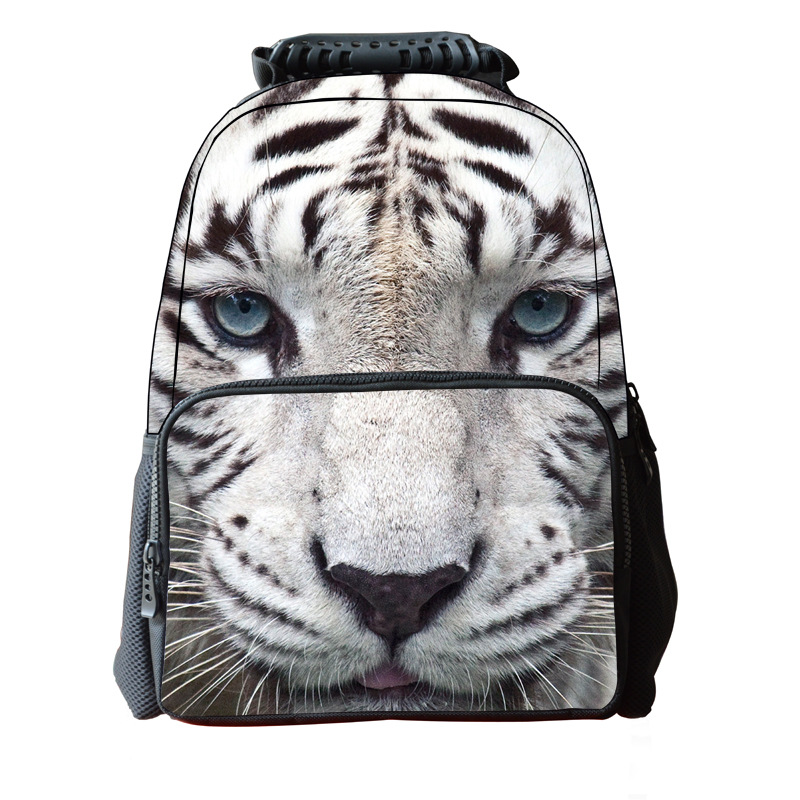 3D Tiger Animal Orthopedic Children School Bags For Boys Students Big  Capacity Felt Bag Kids Mochila Escolar Backpack -in School Bags from  Luggage & Bags on ...