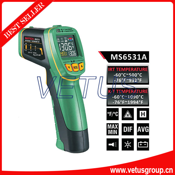 ФОТО Non-contact Infrared Thermometer MS6531A