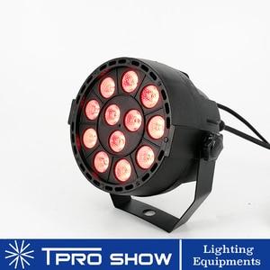 Image 2 - ポケット 12 × 3 ワット LED パー RGB 3in1 トリコロール DJ LED ステージライト Dmx 512 制御音楽活性ライトホームパーティーライト