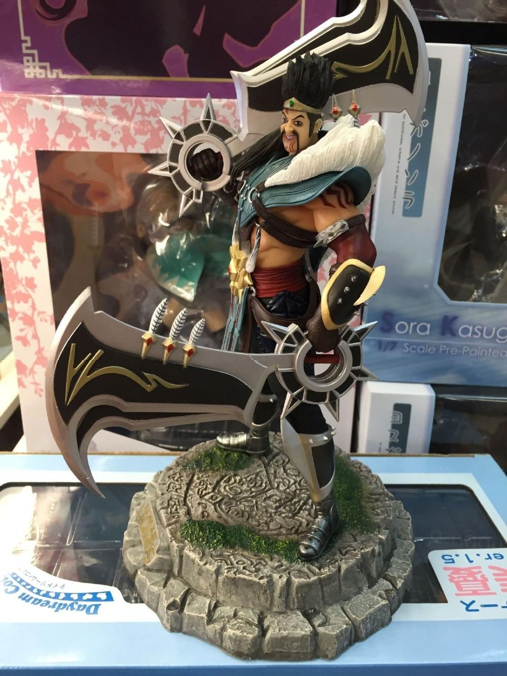 ФОТО 1pcs Game character Draven action pvc figure model tall 22cm.