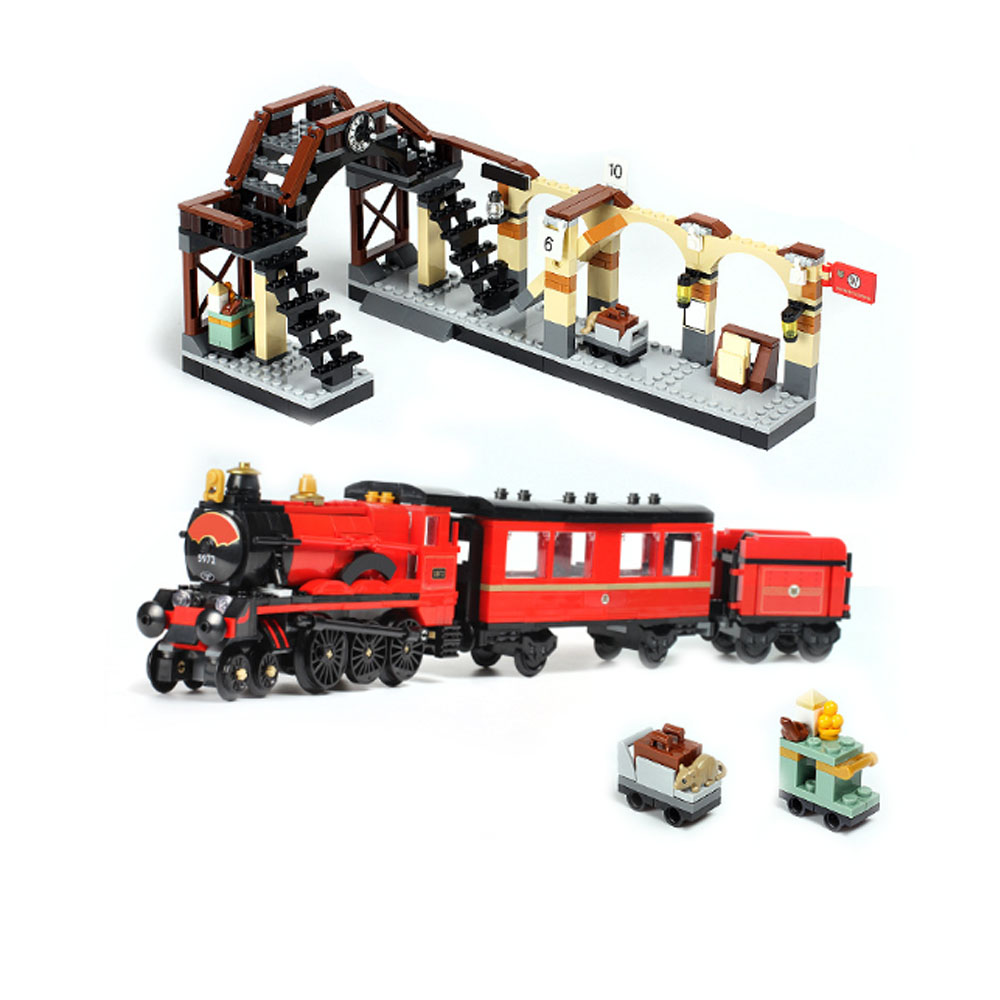 Lepin 16055 Compatible with legoing 75955 Harry Magic Potter Hogwarts Express Train Movie Bricks Building Educational Toy Model