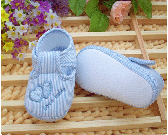 New Cotton Lovely Baby Shoes Toddler Unisex Soft Sole Skid-proof 0-12 Months Kids Infant Shoes