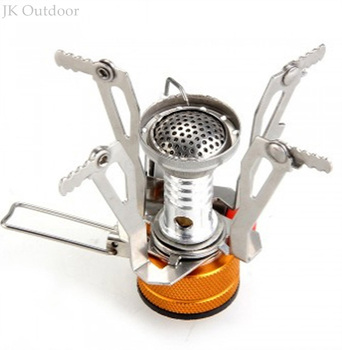 Ultra-light Alloy Camping Equipment Stove Gas Burners Outdoor Cooker Outdoor Stove Mini Gas Stoves Miniature Portable Picnic 1