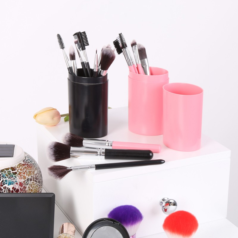 12Pcs Professional Makeup Brushes Kit Қабақ Бояуы - Макияж - фото 5