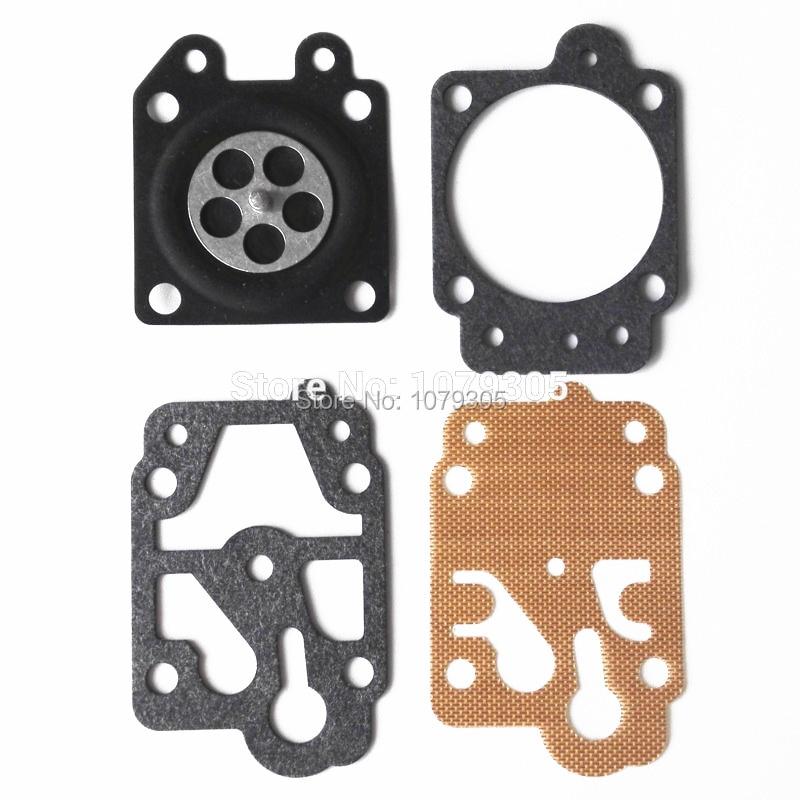 5 Sets Brush Cutter 40-5/44F-5 /34F /36F /139F Grass Trimmer Carburetor Repair Gasket Kit
