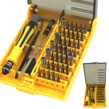 Free Shipping 45 in 1 Repair Opening Pry Tools Screwdriver Kit Set For Cell iPhone 4 4S 5 5S