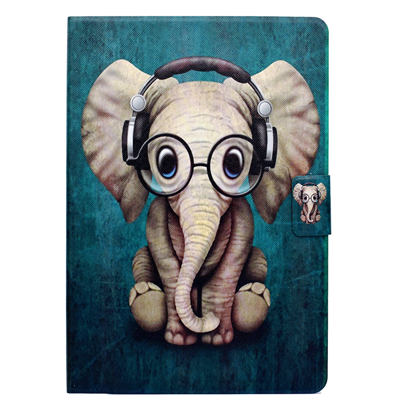 Cartoon Owl Elephant Magnet PU Tablet Case For Huawei Mediapad T1 10 Honor Note 9.6 T1-A21W Leather Cover Coque Kryt Etui Funda