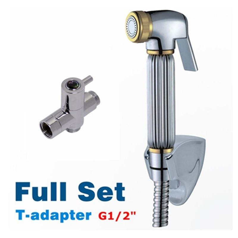 G1 2 Quot T Adapter Hand Shower Bidet Spray Wall Mounted Bidet