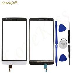 Lovekiss ekran dotykowy czujnik dla LG G3 S Mini piłka odbija się G3s D722 D724 D725 ekran dotykowy wyświetlacz LCD Digitizer Panel przedni szkło w Panele dotykowe do telefonów komórkowych od Telefony komórkowe i telekomunikacja na