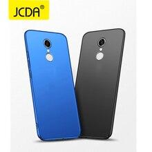 Фотография JCDA for Xiaomi Redmi 5 Plus Case for Xiaomi Redmi 5 Case PC Matte Hard Back Phone Cover Xiaomi Redmi 5 Pro Cases Ultra Thin