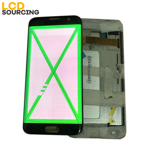 Image 5 - AMOLED Big Red Burn Shadow LCD Display For Samsung Galaxy S7 Edge G935 G935F G935FD Touch Screen Digitizer Assembly with Frame