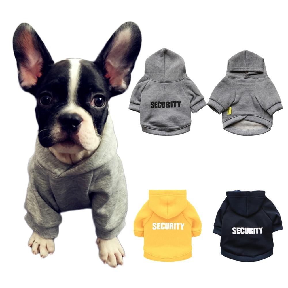 Winter Haustier Hund Kleidung Für Kleine Hunde Französisch Bulldog Mit Kapuze Mantel Sicherheit Jacke Für Chihuahua Welpen Kleidung Katze Kostüm