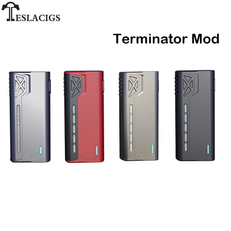 Original Tesla Terminator Mod Box Mod Vape 90w Support Terminator Tank Teslacigs Electronic Cigarette Vape Mods Vs Squonk Mod A377