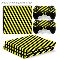 30 Off OSTSTCIKER Yellow Vinyl Decal For PS4 Pro Skin Stickers For Sony PlayStation 4 Pro