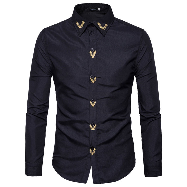 Shopping Pakistan Sari India Sari Cotton Polyester Men 2020 Hot New Fashion Men S Shirt Jacket Slim Popular Embroidery India Pakistan Clothing Aliexpress
