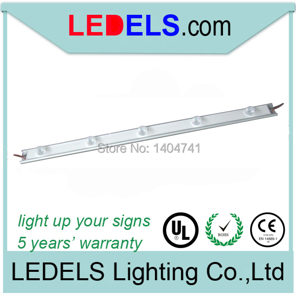 12V 1000lm Led for lightbox lighting,15W edge cree led module bar, injection modular led for signage sign