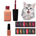 Beauty Girl Hot UV Glue Nail Polish Manicure LED Cats Eye Color Dark Color Oct 28
