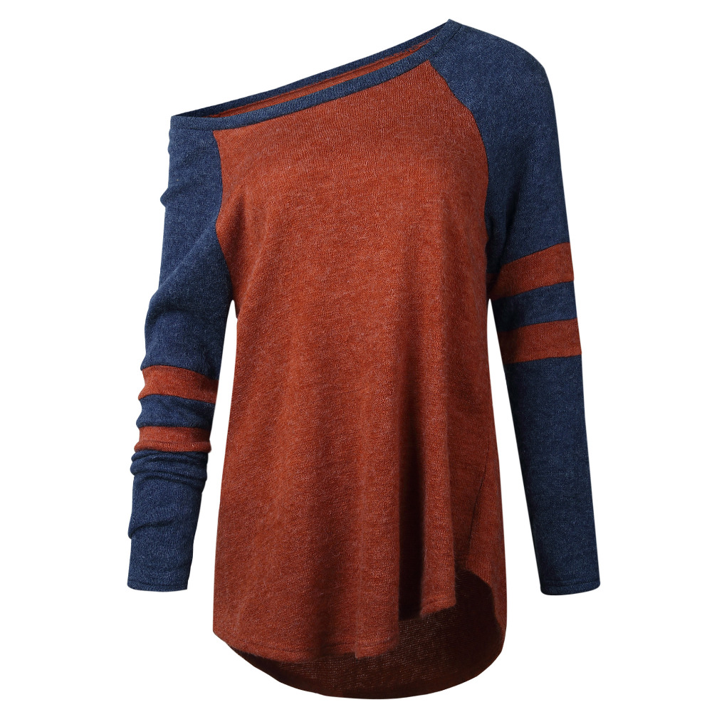 New Women Casual Loose Long Sleeve Sweater loose Knitwear Pullover Jumper coat Pullover 2017 autumn lady female blusas