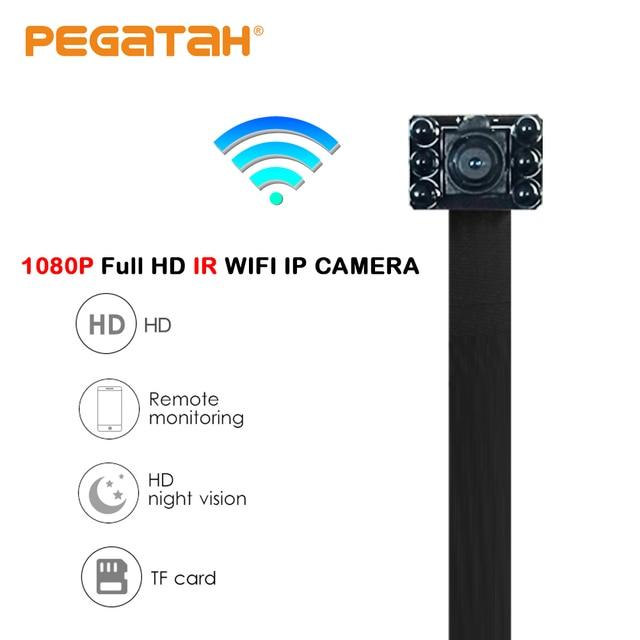 1080 P супер мини wifi Беспроводной Камера HD 2MP Wi-Fi P2P 128G TF слот для карты видео Запись обнаружения движения безопасности Камера с ИК