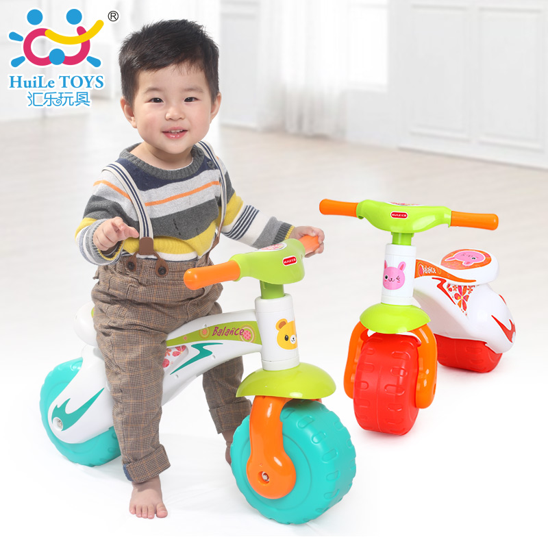 HUILE TOYS 2102 Toddlers Ride On Step Balance Bike Children Ride-On Toy Scooter Pedal Driving Bike Infant Baby Toys 1-3 years huile toys 3108 baby toys traveling picnic cooking suitcase toy included stove utensils plates toy meal bacon and eggs