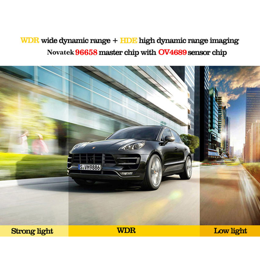 YESSUN Auto Front Dash Camera CAM DVR Rijden Video Recorder voor - Auto-elektronica - Foto 2