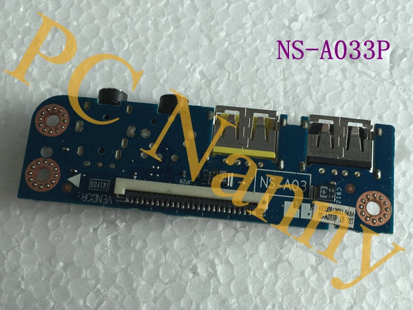 NS-A033P For Lenovo Y400 Y410P y400 Y430 USB AUDIO Board Original