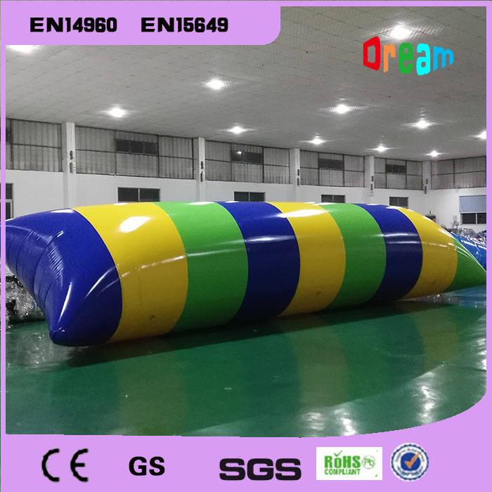 Free Shipping 11*3m 0.9mm PVC Inflatable Inflatable Catapult Bag Bounce Pillows Water Inflatable Jump Bag Air Cushion Trampoline 4m 0 65m inflatable water jumping trampoline free air pump inflatable bounce bed for sale