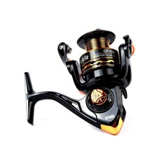 New Rotary Fishing Reel 12 + 1BB Bearing Speed Ratio 5.2:1 1000-7000 Series Spinning Free Shipping Sale