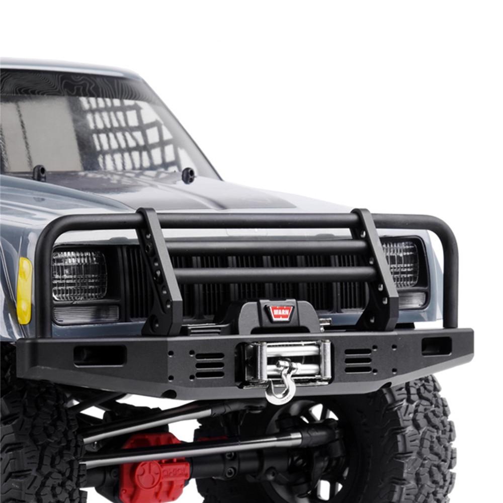 RC Kit TRX4 Front Metal Black Lamp Light Cover 1 Pair For 1:10 Model Car Parts