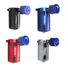 цена на Aluminum Alloy Oil Breathable Pot Ventilation Oil Tank Modified Car Oil Tank With Air Filter Oil Pot Anti-Rust Wear Oil Pot
