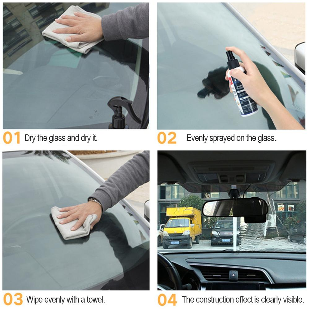 Image 5 - Car Windshields ceramic car coating Rearview Rain Repellent Coating Nano coated Glass PlatedCrystal liquid car glass Coating-in Paint Cleaner from Automobiles & Motorcycles
