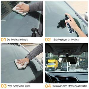 Image 5 - רכב שמשות קרמיקה רכב ציפוי Rearview גשם דוחה ציפוי ננו מצופה זכוכית PlatedCrystal נוזל רכב זכוכית ציפוי