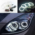 For Hyundai i30 2007 2008 2009 2010 2011 Excellent angel eyes Ultra bright headlight illumination CCFL Angel Eyes kit Halo Ring