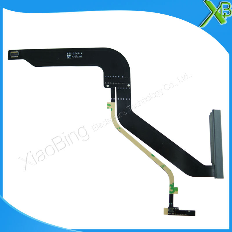 Brand New HDD Hard Drive Cable 821-2049-A for MacBook Pro 13.3 A1278 2012year brand new hdd hard drive disk cable with bracket for macbook pro a1278 13 3 821 2049 a