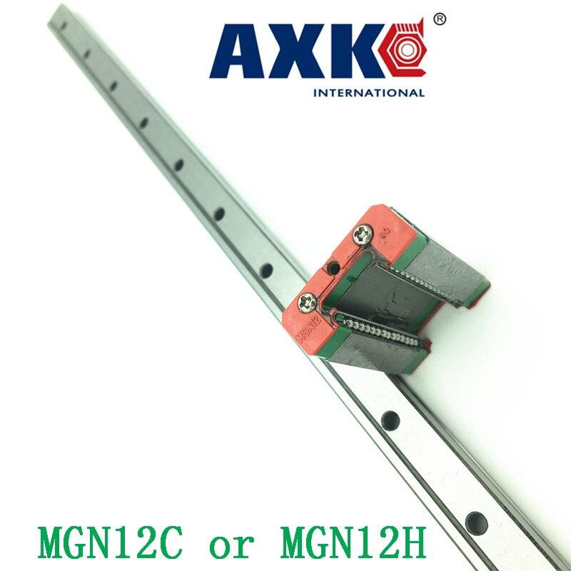 12mm Linearführung Mgn12 L = 550mm Lineare Schiene Weg + Mgn12c oder Mgn12h Lange Linearschlitten Für Cnc Xyz Z-achse