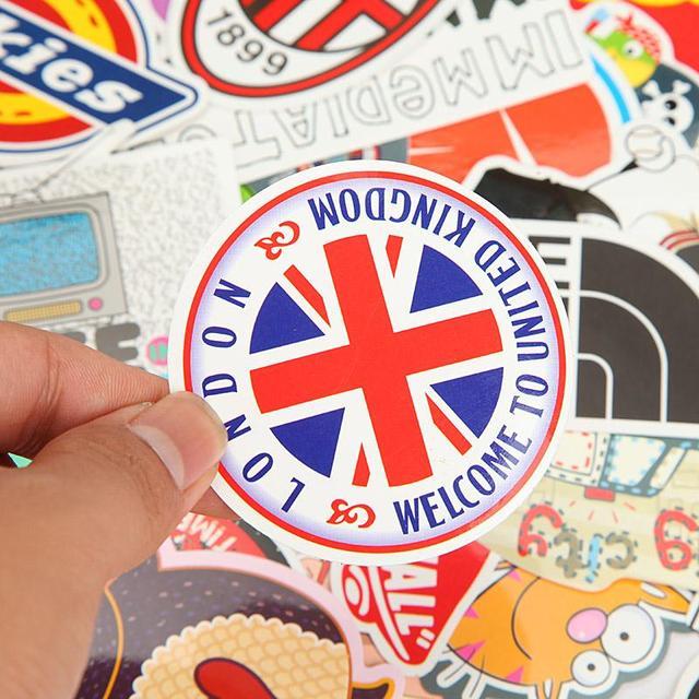 Aliexpresscom Buy PCS Different Cartoons PVC DIY Vinyl Decal - How to make vinyl stickers stick