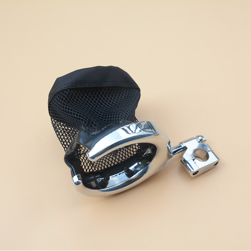 Universelle Chrome Motorrad Lenker Metall Getränkehalter Metall-trinkflasche Für Harley Dyna Honda Suzuki Yamaka BMW