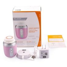 Portable Mini Ultrasonic elektroniskt rengöringsinstrument ansikte skönhet instrument artefakt elektrisk tvättmaskin för kvinnor