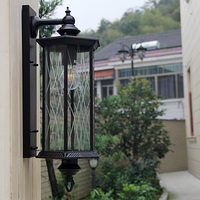 Villa wall lamp garden wall light waterproof garden lamp European retro balcony lamp balcony black wall lamps ZA418654