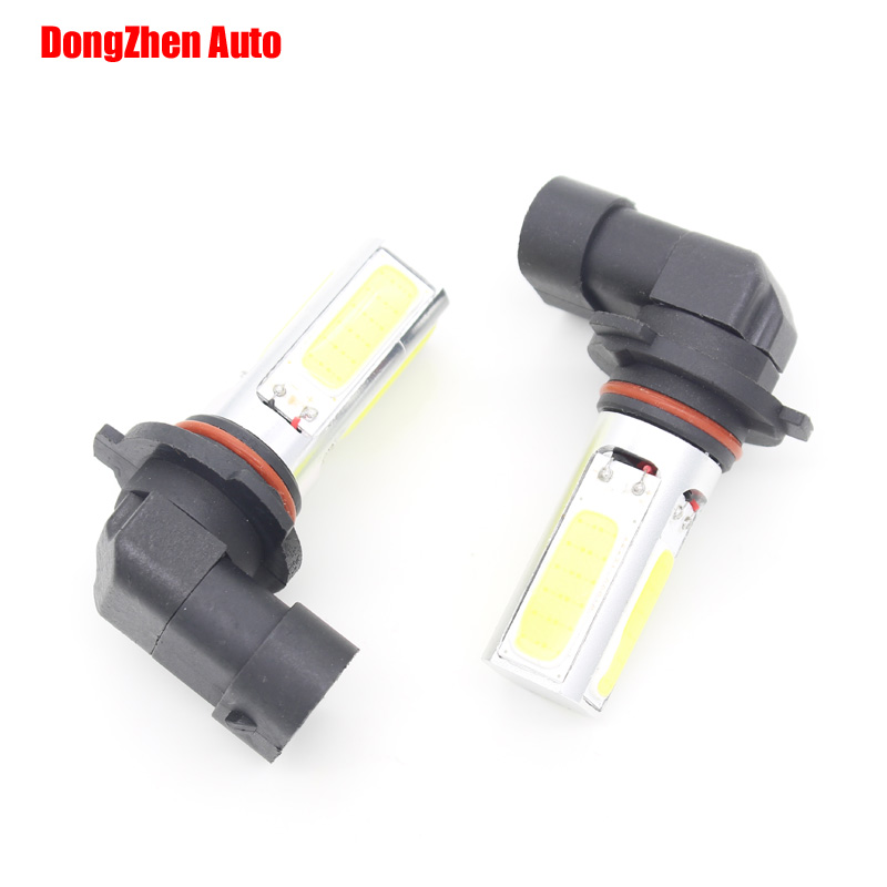 Dongzhen 9005 HB3 LED Car 4 COB 20w High Power Fog Light Daytime Running Headlight Headlamp DRL Bulb HB3 9005 2pcs 2pcs set 72w 7200lm h7 cob led car headlight headlamp auto lamps led kit 6000k headlight bulb light car headlight fog light