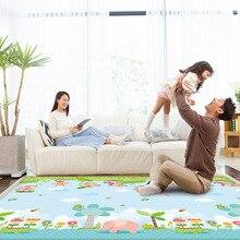 180*200CM Baby Crawling Thick Play Mat EVA Foam Mat Educational Alphabet Game Rug For Children Puzzle Activity Gym Carpet стоимость