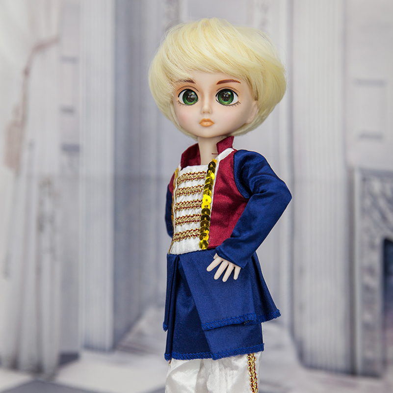 BJD Doll 1/6 30cm High Grade Resin Toy Doll 19 Jointed BJD Doll Boy With Clothes SD BJD Toy Prince Wig Shoes Makeup For Kid 1 6 scale bjd lovely kid sweet baby cute nana resin figure doll diy model toys not included clothes shoes wig
