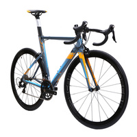 JAVA FUOCO Aluminium Carbon Road Bike 700C Aero Racing Bicycle 22 Speed With 105 5800 Derailleur