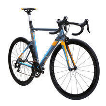 JAVA FUOCO Aluminium & carbon Road Bike 700C Aero Racing Bicycle 22 Speed with 105 5800 Derailleur Shifter Tek tro Brake C model