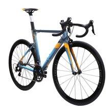 JAVA FUOCO Aluminium & carbon Road Bike 700C Aero Racing Bicycle 22 Speed with 105 5800 Derailleur Shifter Tek tro Brake C model