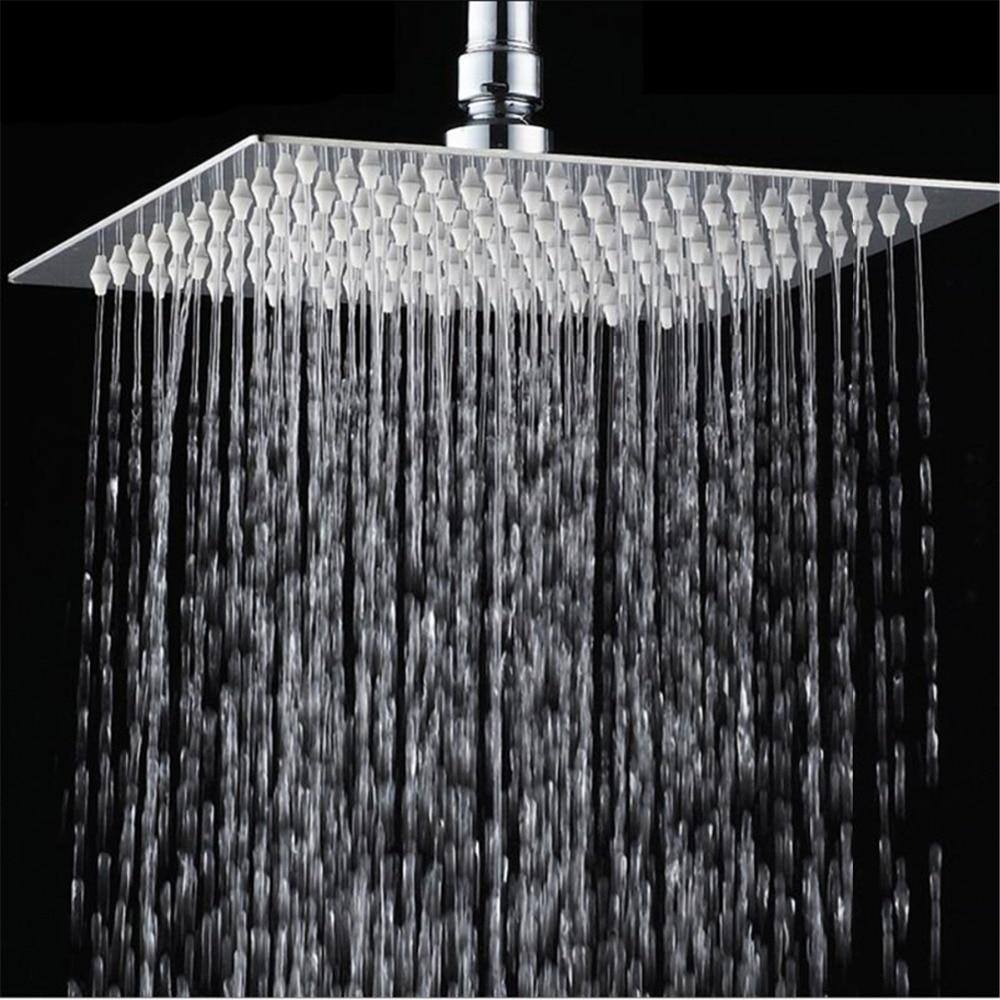 Bathroom Faucets. Shower Set. Chrome Finish Brass Made Shower Set.10 Inch Rain Shower Head Tub Mixer Faucet sognare new wall mounted bathroom bath shower faucet with handheld shower head chrome finish shower faucet set mixer tap d5205