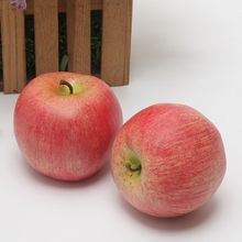 Simulation of fruits and vegetables Fake bread photography Display model teaching props red apple green fruit