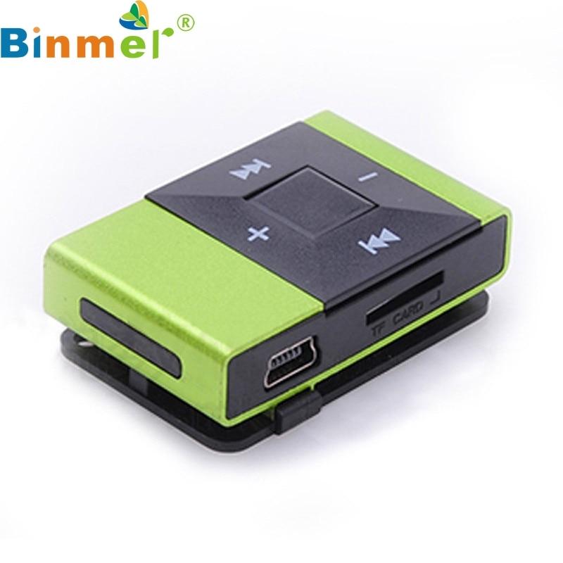 Binmer A18 neue Mini-USB-Clip-Digital-MP3-Musik-Player-Unterstützung - Tragbares Audio und Video - Foto 6