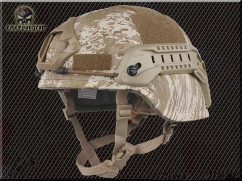 Тактический Велоспорт CS пневматический пистолет спортивный шлем EMERSON ACH MICH 2000 специальное издание шлем EM8978 8 цветов - Цвет: Desert Digital