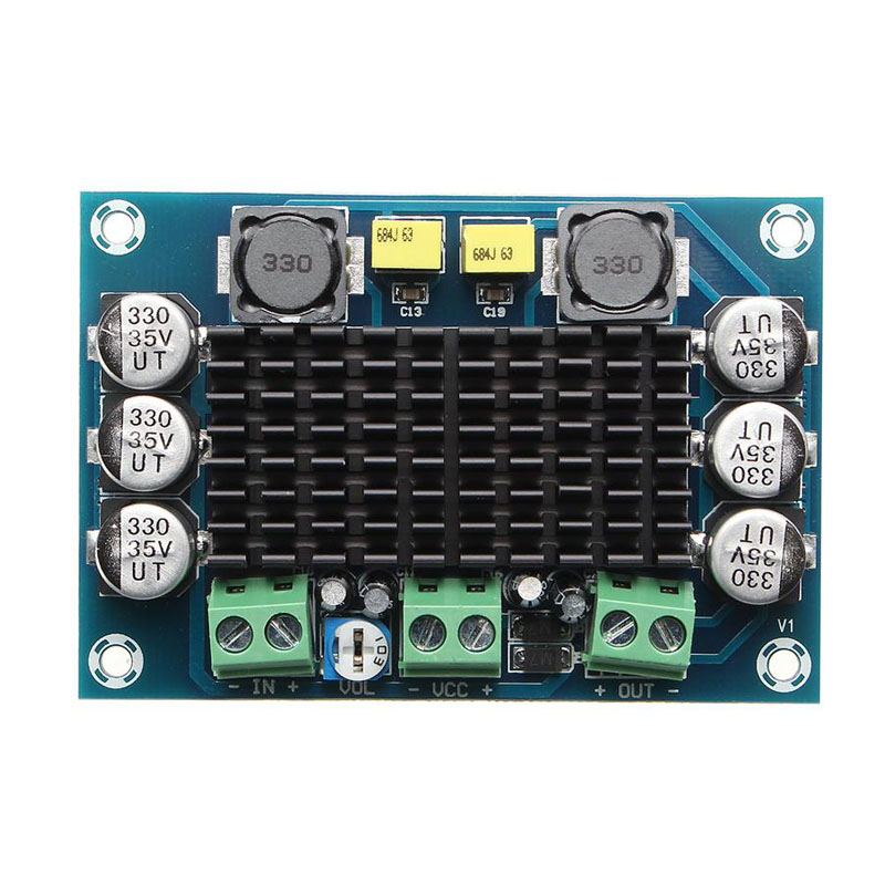 XH-M542 Mono 100W Digital Power Amplifier Board Digital Audio Amplifiers ND998